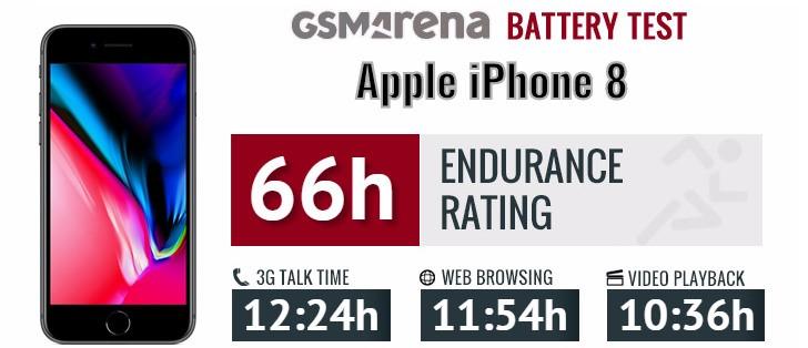 مشخصات کلی و دوام باتری آیفون 8 اپل Apple iPhone 8