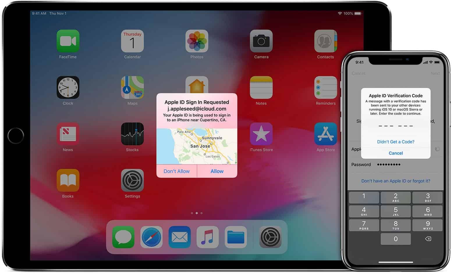 آموزش دو مرحله ای کردن اپل آیدی Two-factor authentication for Apple ID