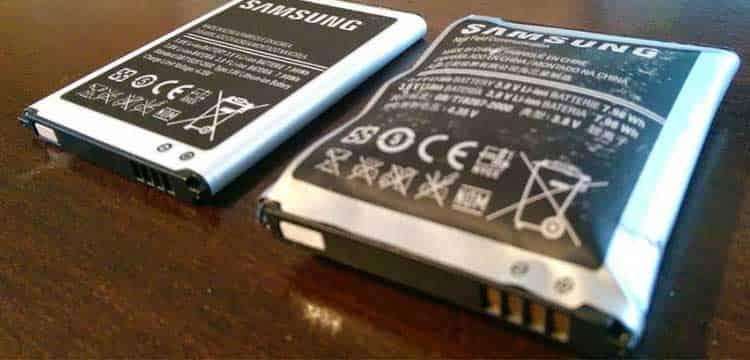 تعویض باتری گوشی موبایل