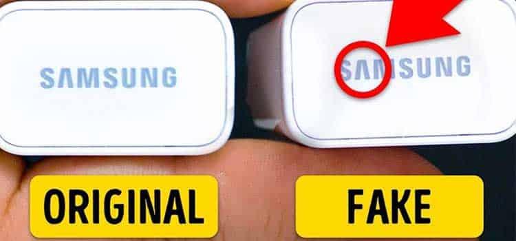 تشخیص اصل یا تقلبی بودن شارژر گوشی موبایل