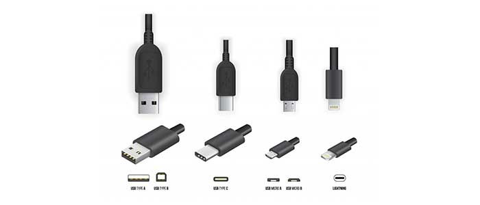 انواع کابل USB و معرفی انواع کابل ها