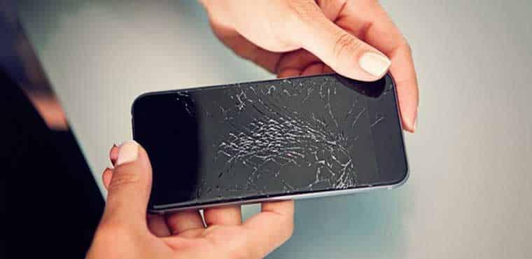 هزینه تعمیر تاچ و ال سی دی شکسته موبایل