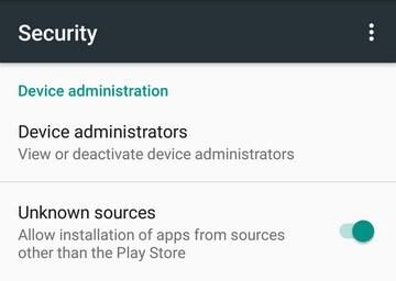 اجازه نصب به نرم افزار روت گوشی های اندروید بدید