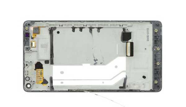 آموزش تعویض صفحه تاچ شکسته لومیا lumia 950 xl