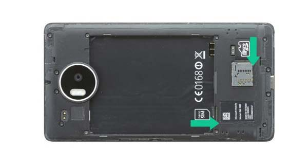 آموزش تعویض تاچ ال سی دی شکسته lumia 950 xl