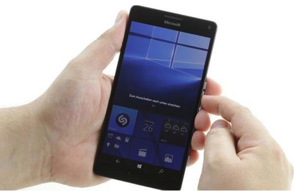 آموزش تعویض تاچ ال سی دی lumia 950 xl
