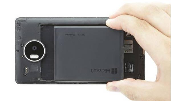 آموزش تعمیر تاچ ال سی دی شکسته lumia 950 xl