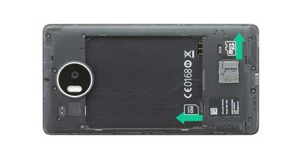 آموزش تعویض تاچ و ال سی دی لومیا lumia 950 xl