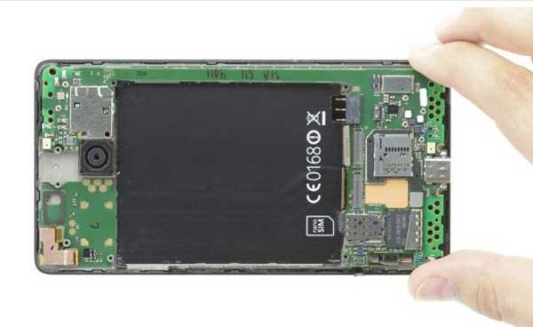 آموزش تعویض تاچ ال سی دی لومیا lumia 950 xl