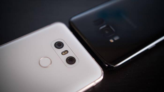 مقایسه گوشی های ال جی جی 6 و گلگسی اس 8 سامسونگ