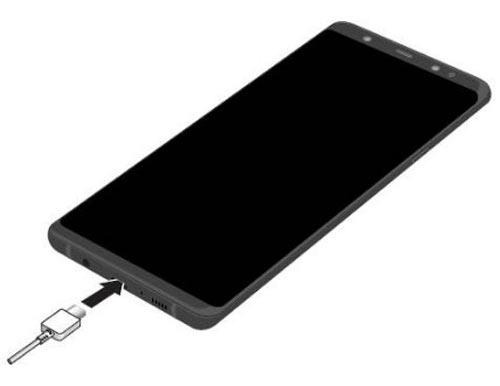 کانکتور USB نوع C برای شارژ سامسونگ گلگسی اس 8