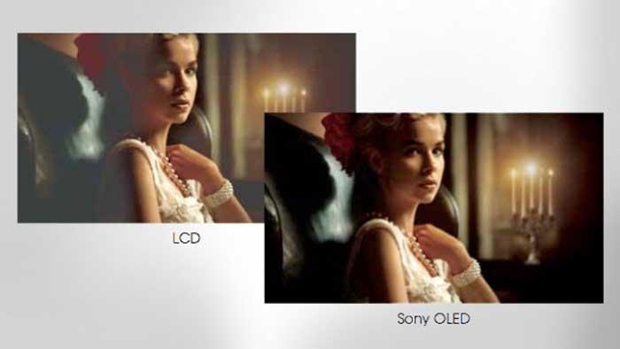 مقایسه ال ای دی ال سی دی با OLED