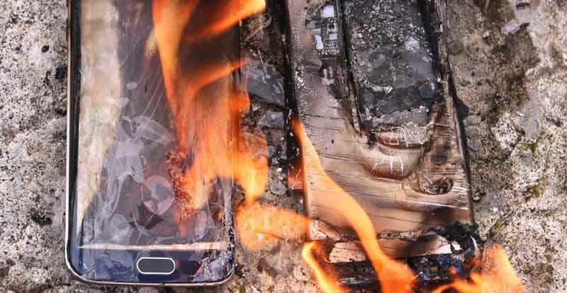 دلایل منفجر شدن باتری های لیتیوم یونی گوشی موبایل