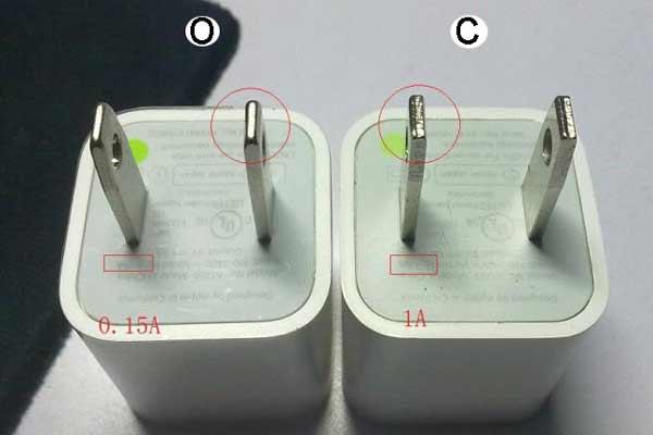 10 راه برای تشخیص شارژر اصلی از تقلبی گوشی آیفون
