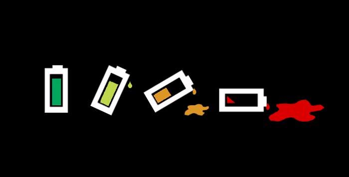 آیا عمر باتری ها رفته رفته کاهش می یابد؟
