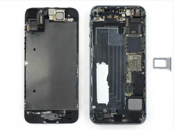 تعمیر گوشی اپل افتاده در آب