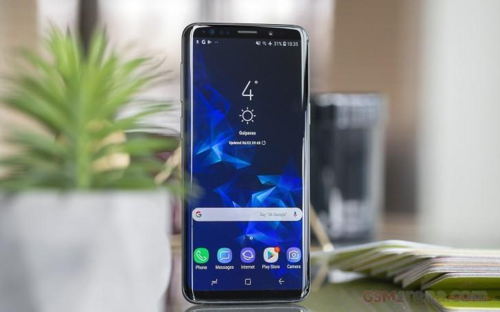 مشخصات ال سی دی Samsung Galaxy S9