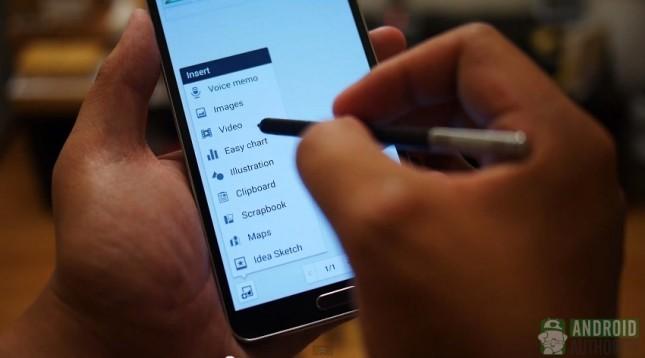 بهره وری در مقابل نوآوری در قلم لمسی Note 3